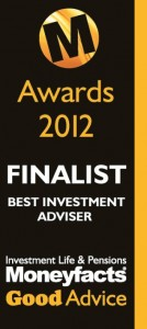 Moneyfacts Good Advice Best Investment Adviser Finalist